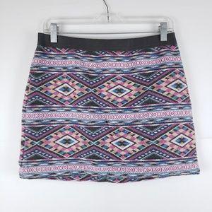 American Eagle Aztec Design Skirt Size 6